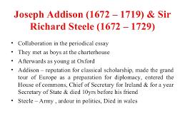 the age of pope shallow optimism 31 joseph addison