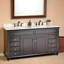 Remodelaholic  Updated Bathroom Single Sink Vanity To Double Sink5 Foot Double Sink Vanity