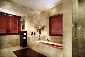 diy bathroom wall storage. bathroom gray brick wall tile shiny white flower-patterned floor arched diy storage