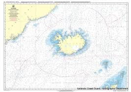 Icelandic Chart 15 Hafid Umhverfis Island Todd Navigation