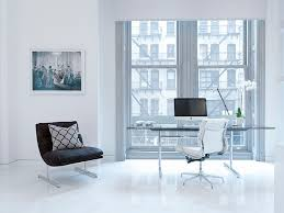 living room home office workspace. Classic Scandinavian Style Meets Modern Minimalism [Design: David Howell Design] Living Room Home Office Workspace