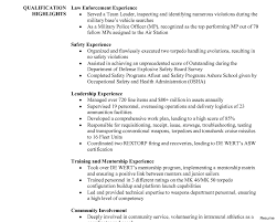 Police Officer Resume Samples resume examples for law enforcement Alannoscrapleftbehindco 52