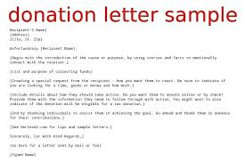 Best Ideas Of Charity Letter Sample Wonderful Sample Donation Letter
