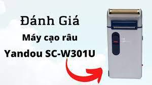 REVIEW] Máy Cạo Râu Yandou SC-W301U, Giá Rẻ Và Pin Trâu - YouTube