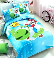 mario brothers bedding popular super comforters super comforters lots super bros cartoon comforter bedding