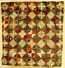 Home - Quilts in the Applachian Artifacts Collections - Library ... & Log Cabin Pattern Quilt 1997.8.1 Adamdwight.com
