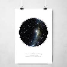 Star Chart Poster Custom Personalized Star Map Gift Night Sky Print Custom Star