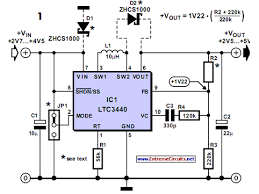 buck boost voltage converter eeweb community buck boost voltage converter circuit diagram