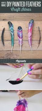 diy painted feathers 27 easy diy projects for teens who love to craft