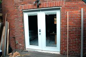 how to install sliding patio doors