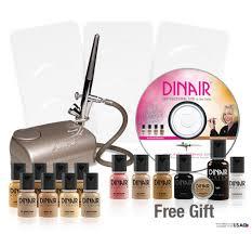 dinair airbrush makeup color foundation