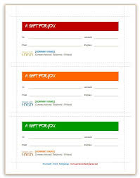 Microsoft Word Templates Gift Certificates New Gift Certificate Templates Gift Certificate Template