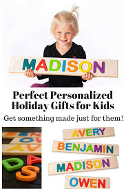 kid s personalized gifts wooden name puzzles
