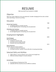 99 Resume Templates For Word Pad Resume Templates Wordpad Sample