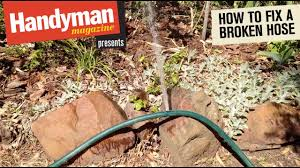 how to fix a leaking garden hose