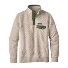 Patagonia Women's Cotton Quilt Snap-T® Pullover & W's Organic Cotton Quilt Snap-T® Pullover, Birch White ... Adamdwight.com