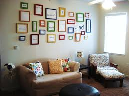 Clever Connected Wall Me Dorm Room Decorating Ideas Black Wooden Shelves  Fabric Sofa Beds Built In