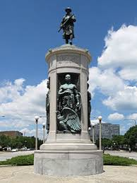 the victory monument which is listed on the national register of historic places is
