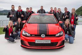 Volkswagen Golf GTI Wolfsburg Edition at Worthersee