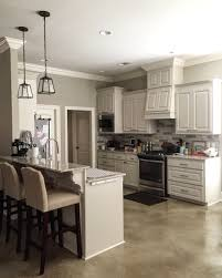 Dove White Kitchen Cabinets 320 Sycamores Kitchen White Dove Cabs Revere Pewter Walls