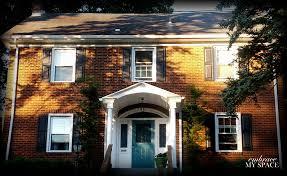 extraordinary front door brick house brick house with teal front door