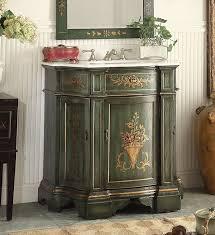 35 inch bathroom vanity tuscan style hand painted dark vintage green 35 wx21 5 dx36 h chf090g