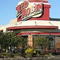 red robin burgers menu s