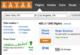 Book Now Or Wait Kayak Adds Price Forecasting To Its Flight