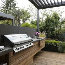 modern outdoor living melbourne. built in bbq outdoor kitchen modern living melbourne