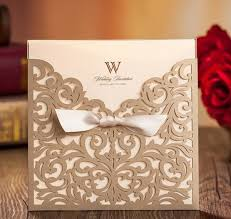 Weding Card Designs Gold Wedding Invitations Custom Invitations Romantic Personality Wedding Invitation Wedding Cards Designs Via Dhl In Low Price Alternative Wedding
