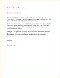 Remarkable Cover Letter Samples For Jobs Resume Customer