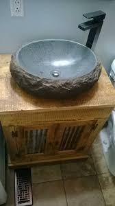 custom made reclaimed barn wood bathroom vanity rustic reclaimed 1800s salvaged barnwood farm house vanity