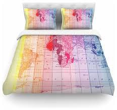 world map duvet cover the duvets