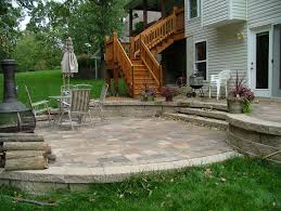 raised concrete patio inspirational 78 best about retaining wall