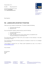 Brilliant Ideas Of Architecture Cover Letter Sample Guamreview