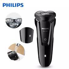 Máy cạo râu 3 lưỡi Philips S1010 thế hệ mới - độ bền cao, sắc bén trong  đường cạo, Bảo hành 2 năm
