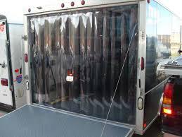 truck and trailer strip doors