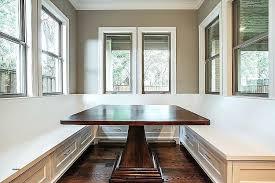 half circle kitchen table impressive modern