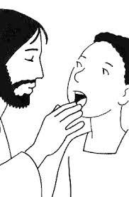 BD et Caté : Jésus guérit le sourd-muet - KT42 - portail caté
