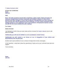raise salary letter thank you for salary increase letter sample competent concept