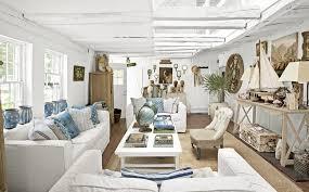 heartwarming beach decor in living room