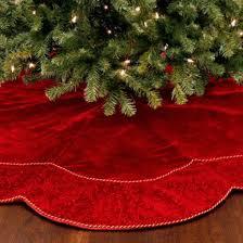 ... Charming Ideas Red Christmas Tree Skirt Best Velvet Photos 2017 Blue  Maize ...