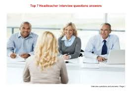 interview questions for headteachers top 7 headteacher interview questions answers 1 638 jpg cb 1435653794