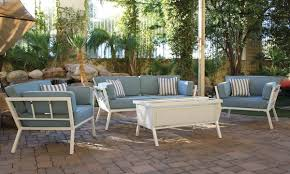 The Bay Living Room Furniture Anchor Bay Outdoor Love Seat Arm Chairs And Lift Top Table The