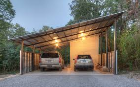 Carports  Carport Building Kits Shed Roof Carport Designs Three Attached Carport Designs