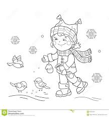 Girl's Clothes Coloring Page Stock Illustration - Image: 50448565
