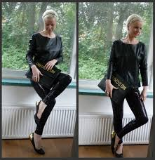 cute shirts to wear with leather pants