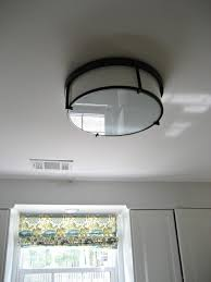 stylish flush mount kitchen ceiling light fixtures ceiling light