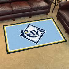 tampa bay rays mlb plush area rug carpet floor mat 4