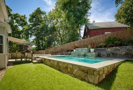 Swimming Pools Gallery - Small-space Craftsmanship | Swimming Pool  Ideas/Pool Houses | Pinterest | Swimming pools, Small spaces and Spaces